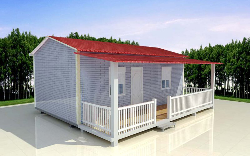 EPS Cement Sandwich Panel Prefabricated House Features