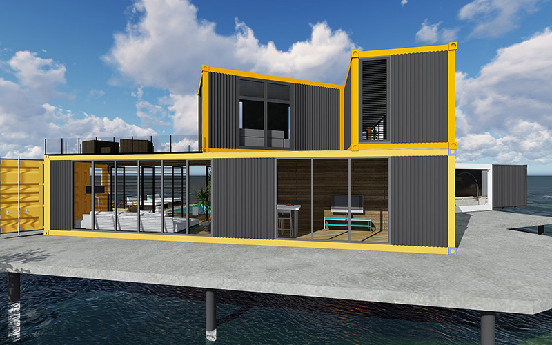The Different of Container House and Commercial House