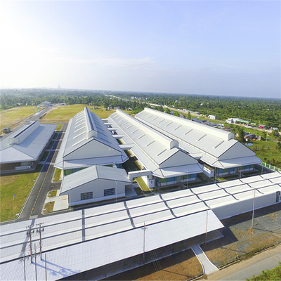 High Quality Steel Structure Warehouse with Stainless Steel Prefabricated Warehouse Houses