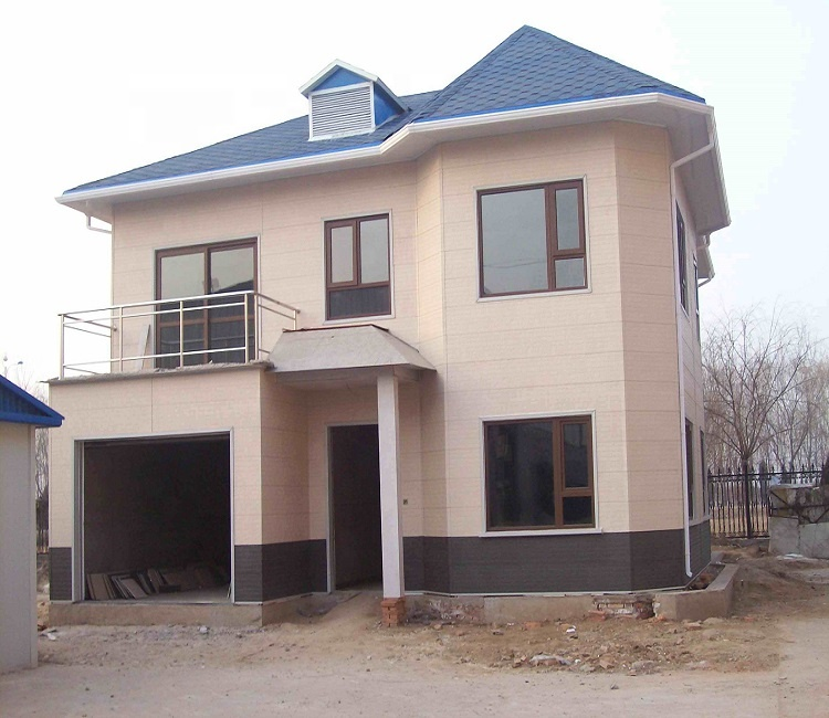 Specially Designed Prefabricated House for Villa's Eps Cement Sandwich Panel House