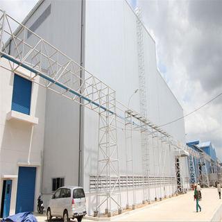 Super Durable Steel Structure Warehouse for Large Factory Workshops