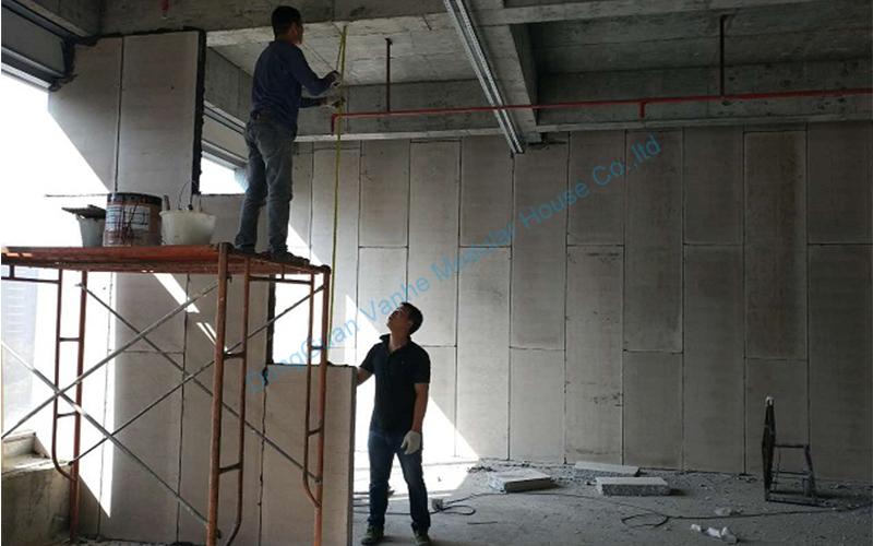 EPS Cement Sandwich Panel House