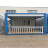 High Quality Container House for Workers' Camp Earthquakeproof Eps Cement Sandwich Panel