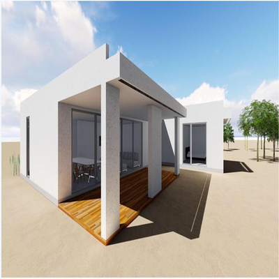 2018 Most Popular Prefabricated Houses for Temporary Garages in Store Garages