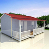 Customizable Prefabricated Houses for Outdoor Temporary Modular House with Shockproof