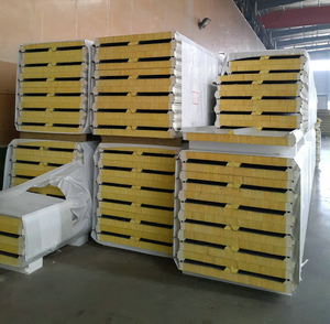 Color Steel Metal Sandiwich Panel Price Board Insulated XPS EPS PU Rock Wool Glass Wool Wall Roof Sandwich Panel