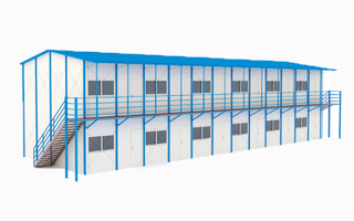 Prefab Workshop Prefabricated K House For Worker Dormitory