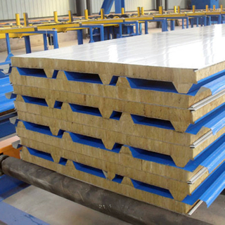 Competitive Price Eps/glass Wool Roof Sandwich Panel Pu /rock Wool Wall Sandwich Sheet
