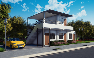 Super Low Cost Prefabricated House,Fast Build Light Steel Villa, Tiny Size Container Home, Well Design Resort Hotel