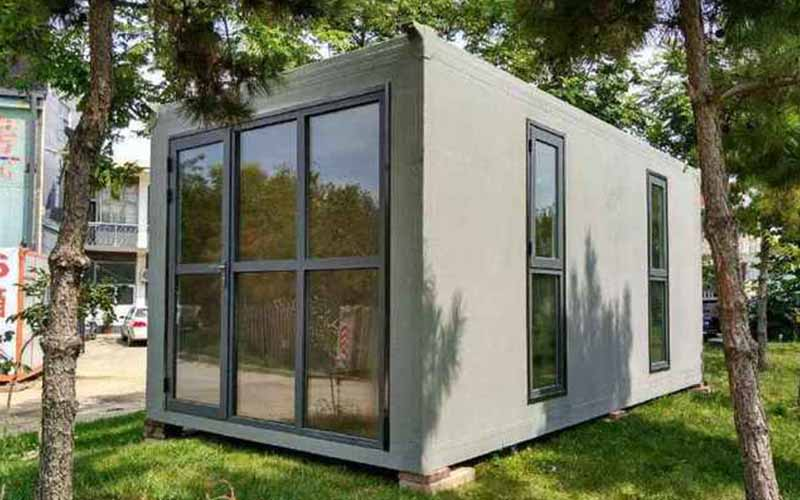 Container House Drive The Development of Energy-saving Building Material